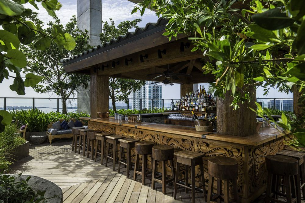 Sugar rooftop bar and garden